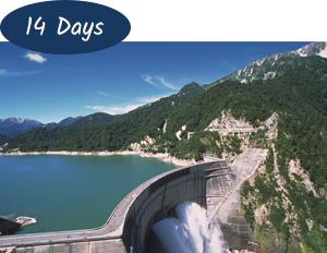 Dynamic Tateyama Kurobe Alpine Route 14 days
