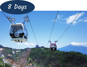 8 days Japan Holiday Package