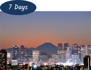 7 days Japan Holiday Package