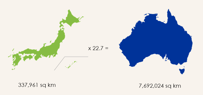 Map Of Australia Japan.Facts Of Japan General Information Japan Explorer