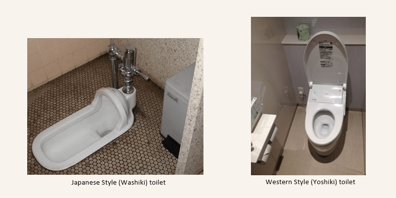 5 Things that are good to know before you go to Japan - Japanese & Western style toilet