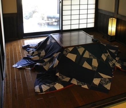 How to keep yourself warm in the cold winter in Japan - Kotatsu