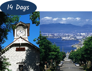 Tohoku and South Hokkaido 14 days Package
