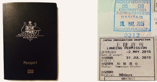 5 Things you need to know before you go to Japan - passport
