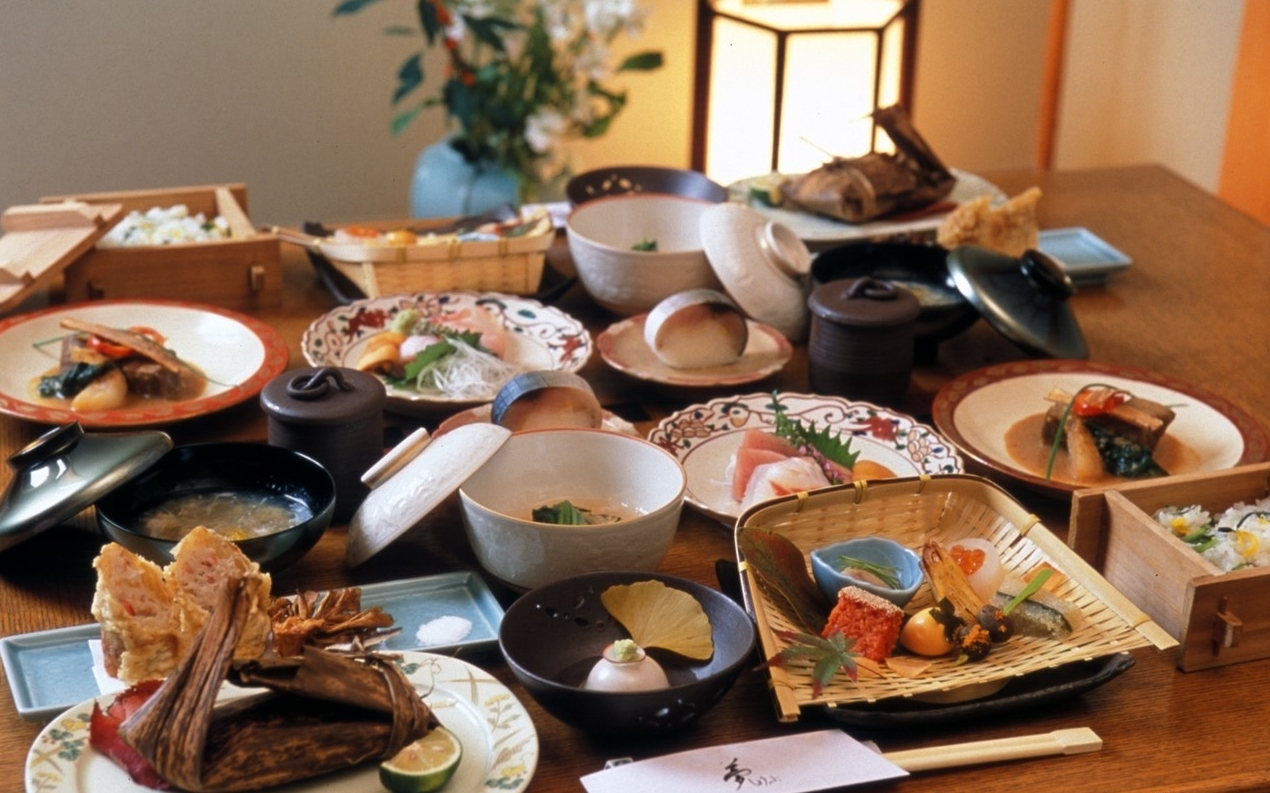 Food you should try in Japan - Kaiseki 2