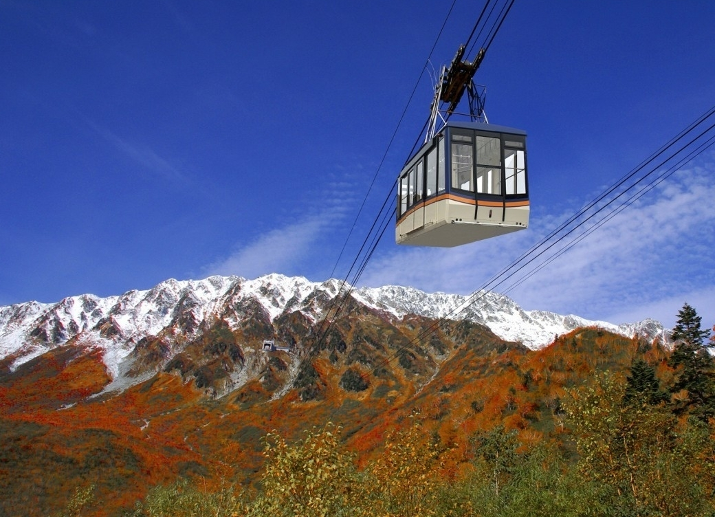 Autumn Leaves Tateyama Kurobe Alpine Route 14 Days