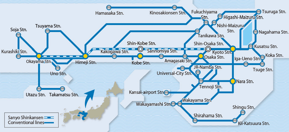 kansai-wide-area-pass-route-map