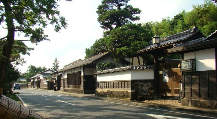 Matsue samurai district - Shiomi Nawate