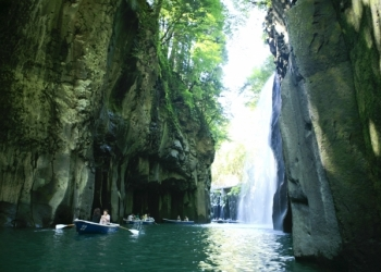 Off the beaten track in Japan Takachiho Gorge